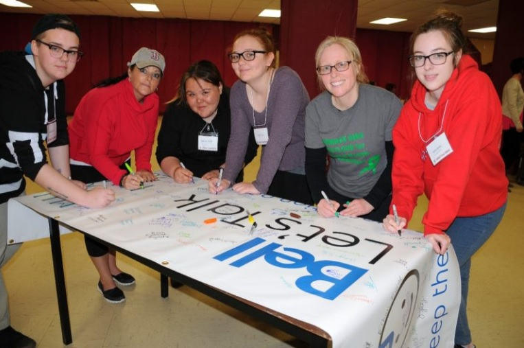 Students and community members learend a lot of positive ways to mind their mind (Photo credit: The Labradorian/Mike Power)